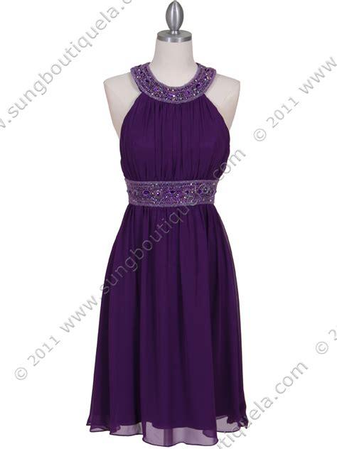 purple beaded dress purple beaded cocktail dress sung boutique l a