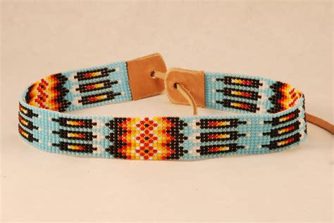 indian bead bracelet american indian seed bead choker necklace hairband