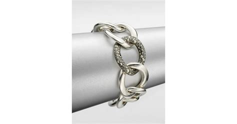 large link chain for jewelry pomellato sterling silver large link chain bracelet