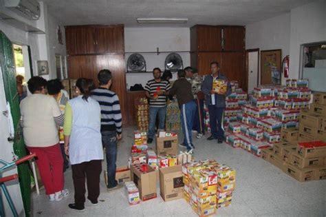 cruz roja banco de alimentos reparto de alimentos de cruz roja