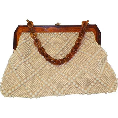 vintage beaded purse vintage beaded purse laregale ltd sold on ruby