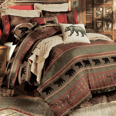 rustic bedding sets rustic bedding gallatin bedding collection black