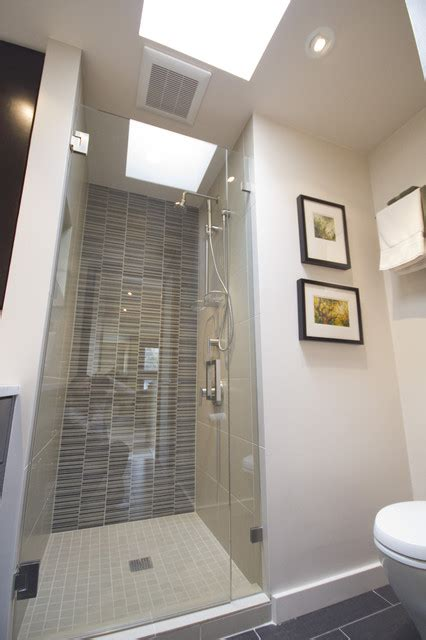 Decorative Screens For Living Rooms by Capitol Hill Condo Bathroom Remodel Modern Bathroom
