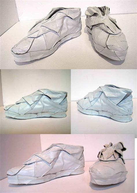 origami shoe origami shoes nuo chen