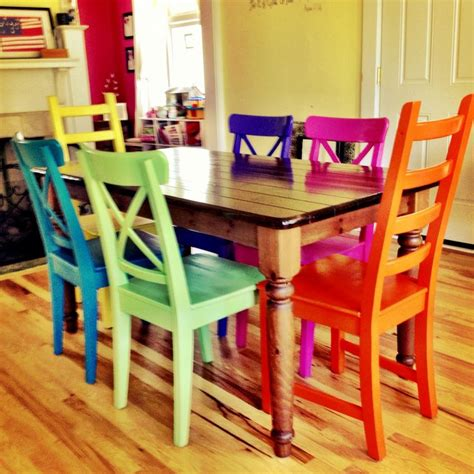 spray painting dining room chairs rustoleum spray painted chairs these remind me of all