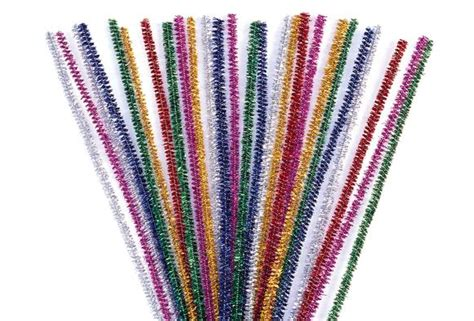 with pipe cleaners sparkle pipe cleaners