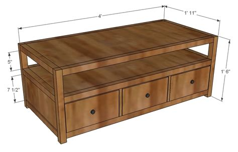 free woodworking plans coffee table free woodworking plans coffee table drawers