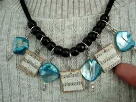 reuse gold to make new jewelry sheet bead necklace recycle repurpose upcycle diy