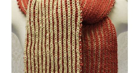 knit and crochet now episodes free brioche scarf pattern design by lena