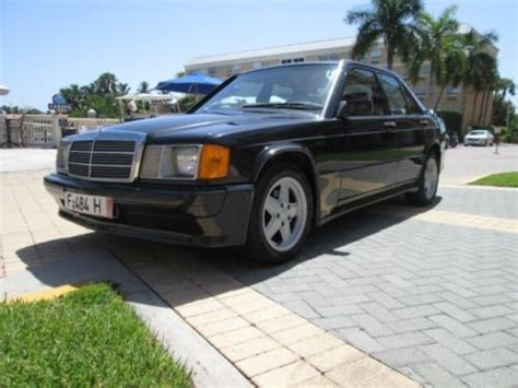auto air conditioning service 1985 mercedes benz w201 user handbook find used 1985 mercedes benz 190e 2 3 16 cosworth in naples florida united states