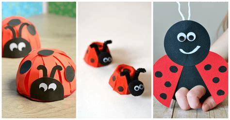 ladybug crafts for lovely ladybug crafts for preschoolers from abcs to acts
