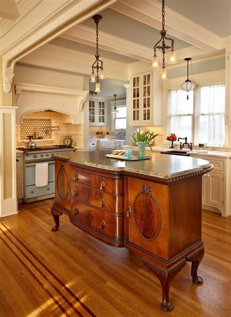 kitchen island antique 25 best ideas about dresser kitchen island on build kitchen island diy kitchen