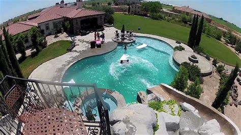 awesome backyard pools triyae awesome backyard pool ideas various design