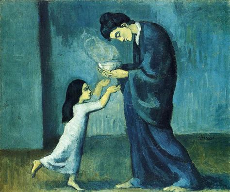 picasso normal paintings the soup 1902 by pablo picasso