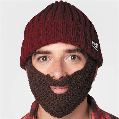 knitted beard hats lumberjack knit hat beard images