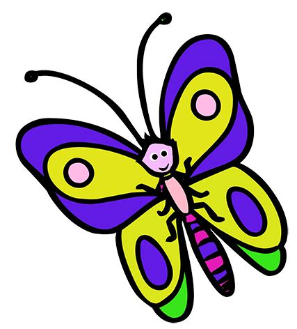 of a butterfly butterfly clipart