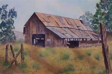 bob ross painting barns painters of barns grapes quot watercolor 8 quot x 10