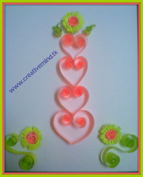 quilling card s day quilling card