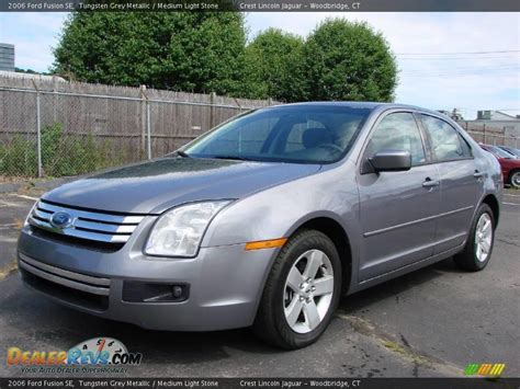 2006 Ford Fusion by 2006 Ford Fusion Se Tungsten Grey Metallic Medium Light