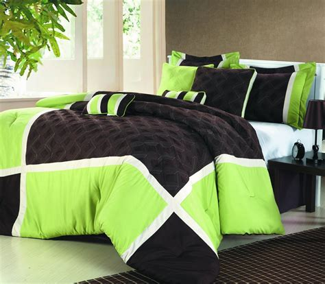 and black bed sets lime green and black bedding sweetest slumber my new