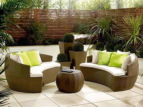 garden outdoor furniture 20 fabulous rattan outdoor furniture to be explored