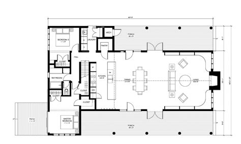 modern contemporary floor plans contemporary farm home plans