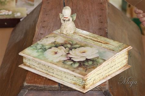 decoupage photos onto wood wooden decoupage box boxes with decoupage