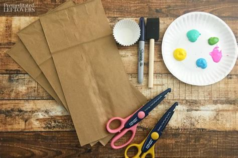 paper craft supplies paper bag jellyfish craft with cupcake liners tutorial