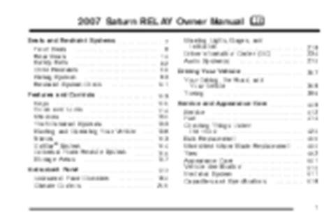 2007 saturn relay engine repair manual service manual removing 2006 saturn relay engine new 2007 saturn relay problems online manuals and repair information