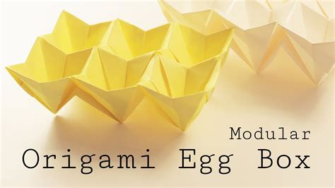 easy origami easter egg origami easter egg box tutorial modular