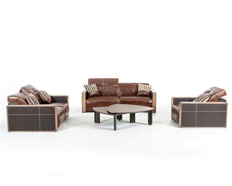 contemporary leather sofa sets contemporary leather sofa set 44l5956
