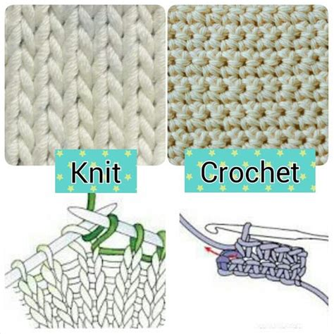 Knit Vs Crochet Comment Below Which One You Like More