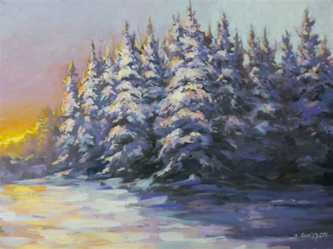 acrylic painting winter the colors of winter acrylic painting lesson tim