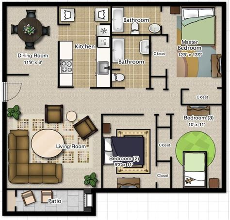 two bedroom plan design best 25 two storey house plans ideas on sims