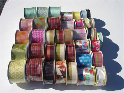supplies wholesale 39 pcs ribbon spools wholesale lot floral bulk crafts bows