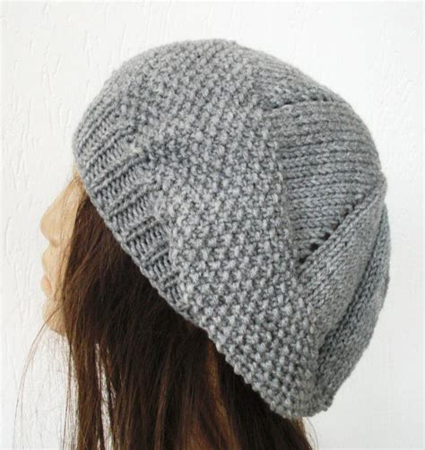 knitting hat knit beret hat pattern a knitting