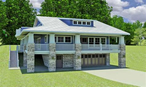 small home plans with basement hillside home plans with walkout basement small hillside