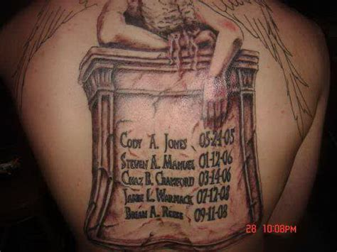 image gallery tombstone tattoos