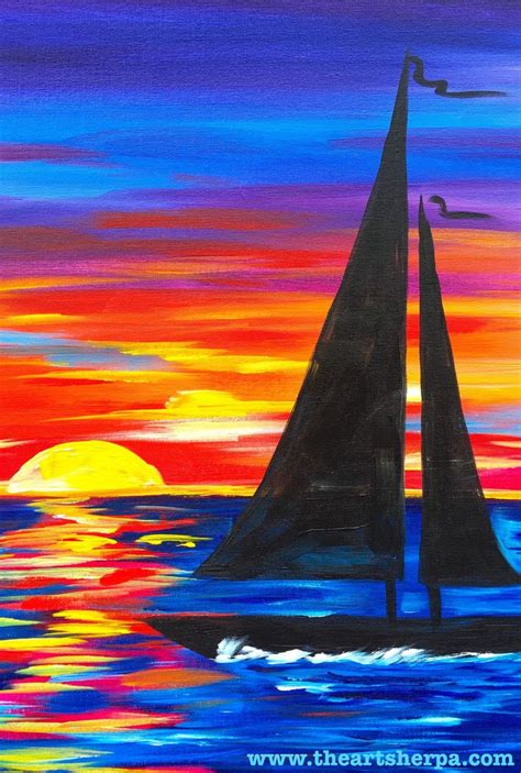 acrylic painting classes for beginners 217 best images about the sherpa lesson
