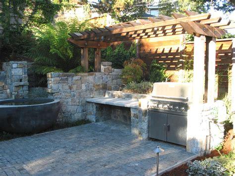 outdoor kitchen gardens berkeley garden pools patio outdoor kitchen and deck