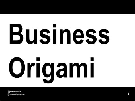 business origami business origami paper prototyping for systems and