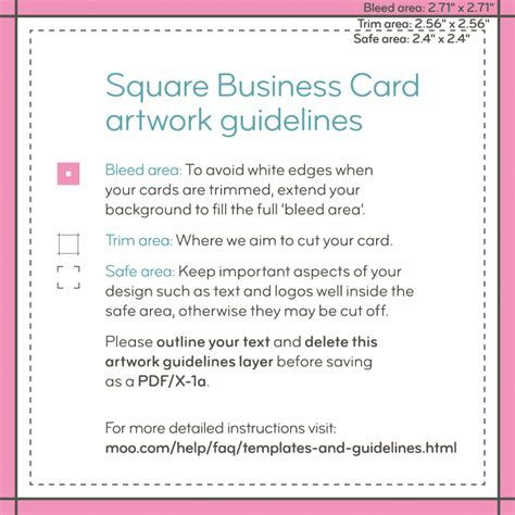 how to make business cards in pages moo product templates moo support