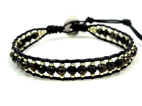 seed bead leather wrap bracelet leather wrap bracelet leather bracelet seed bead