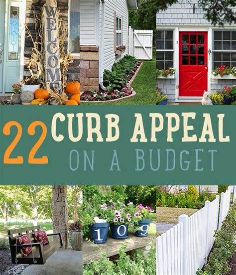 ideas for home decor on a budget curb appeal on a budget home decor ideas