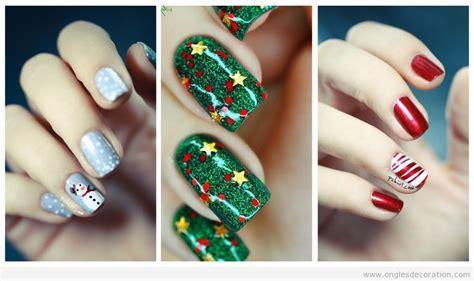 d 233 co sur ongles pour les f 234 tes de no 235 l 2015 d 233 coration d ongles tout sur le nail la