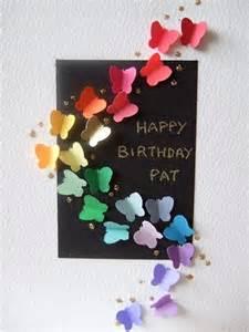 easy to make birthday cards birthday card to make carte