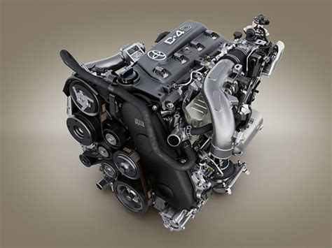 Toyota Diesel Engines by Toyota Introduces New Gd Diesel Engines For All New Hilux