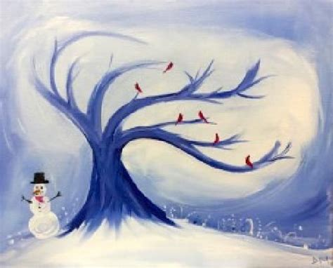 paint nite akron 123 best images about winter paintings on