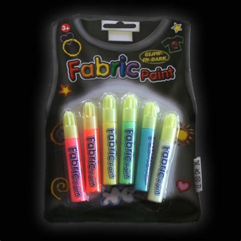 glow in the fabric paint uk glow in the fabric paint pens