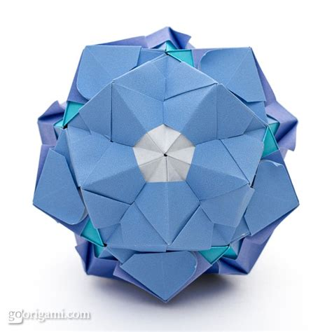 modular origami sonobe sonobe variation by sinayskaya go origami